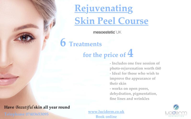 Skin peel offers
